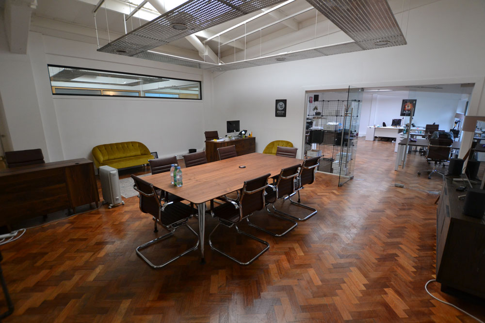 Matrix Studios co-working meeting area