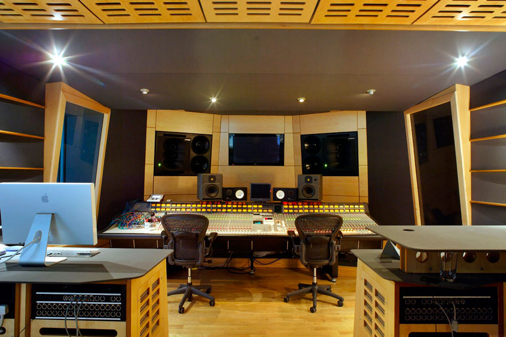 Matrix Studios large recording studio